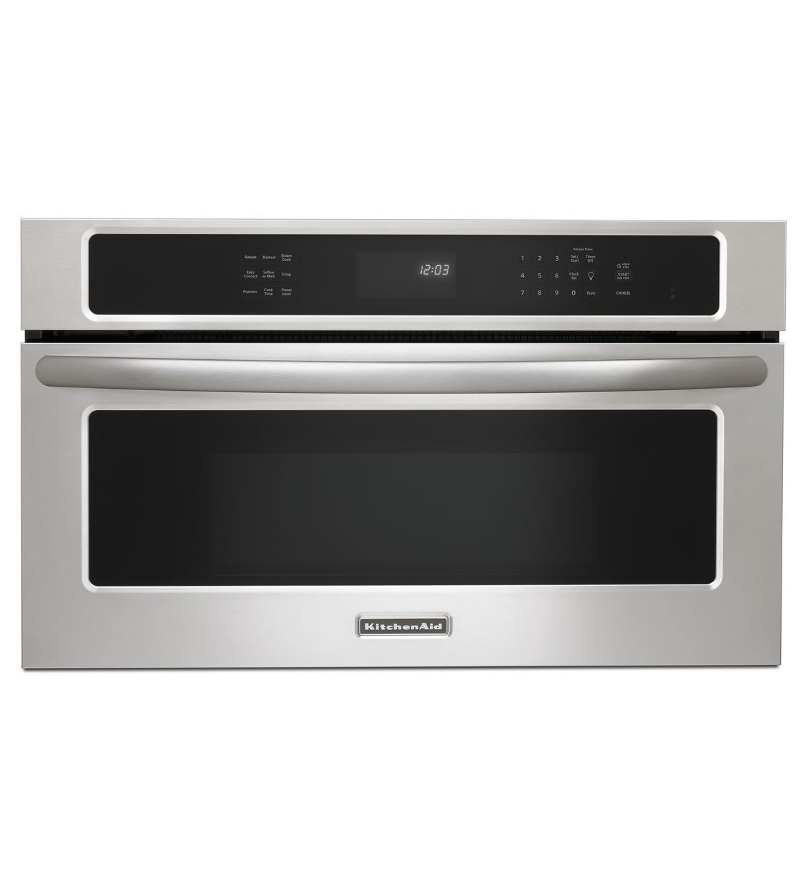 Kitchenaid 27 900 Watt Convection Built In Microwave Architect Series Ii Kbhs179bss Stainless Steel