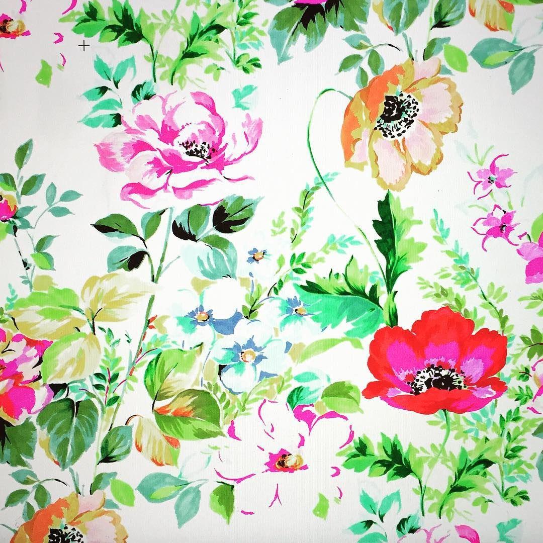Garden flowers #printed textiles #fashionprint #freelance #sharpie #flexmarkersletraset #happyflowers