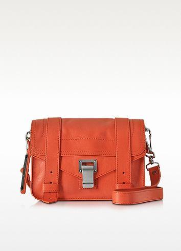 PROENZA SCHOULER Ps1 Mini Lux Leather Crossbody. #proenzaschouler #bags #shoulder bags #leather #crossbody #