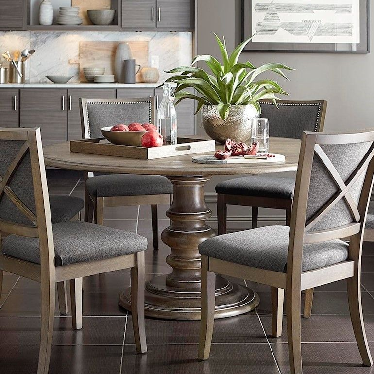 Custom Dining Square X Back Uph Side Chair Dining Room Furniture
