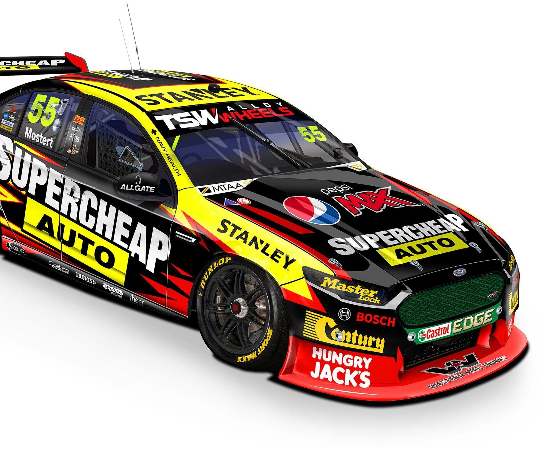 Supercheap Auto Racing V8 Supercars Super Cars Racing Race Cars