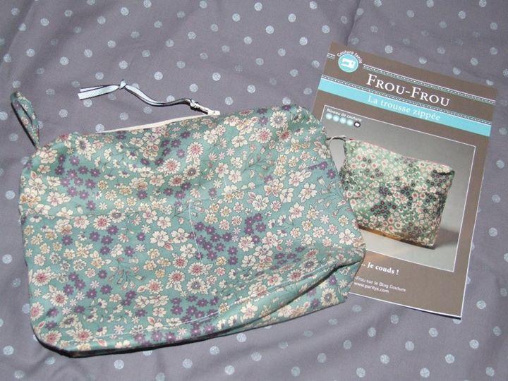 Pochette de sac Frou-Frou - couture - turquoise ZbiKx