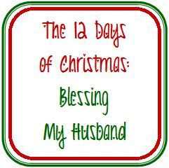 You have to read this - SUCH a cute idea!  12 Days of Christmas gifts for the hubs.