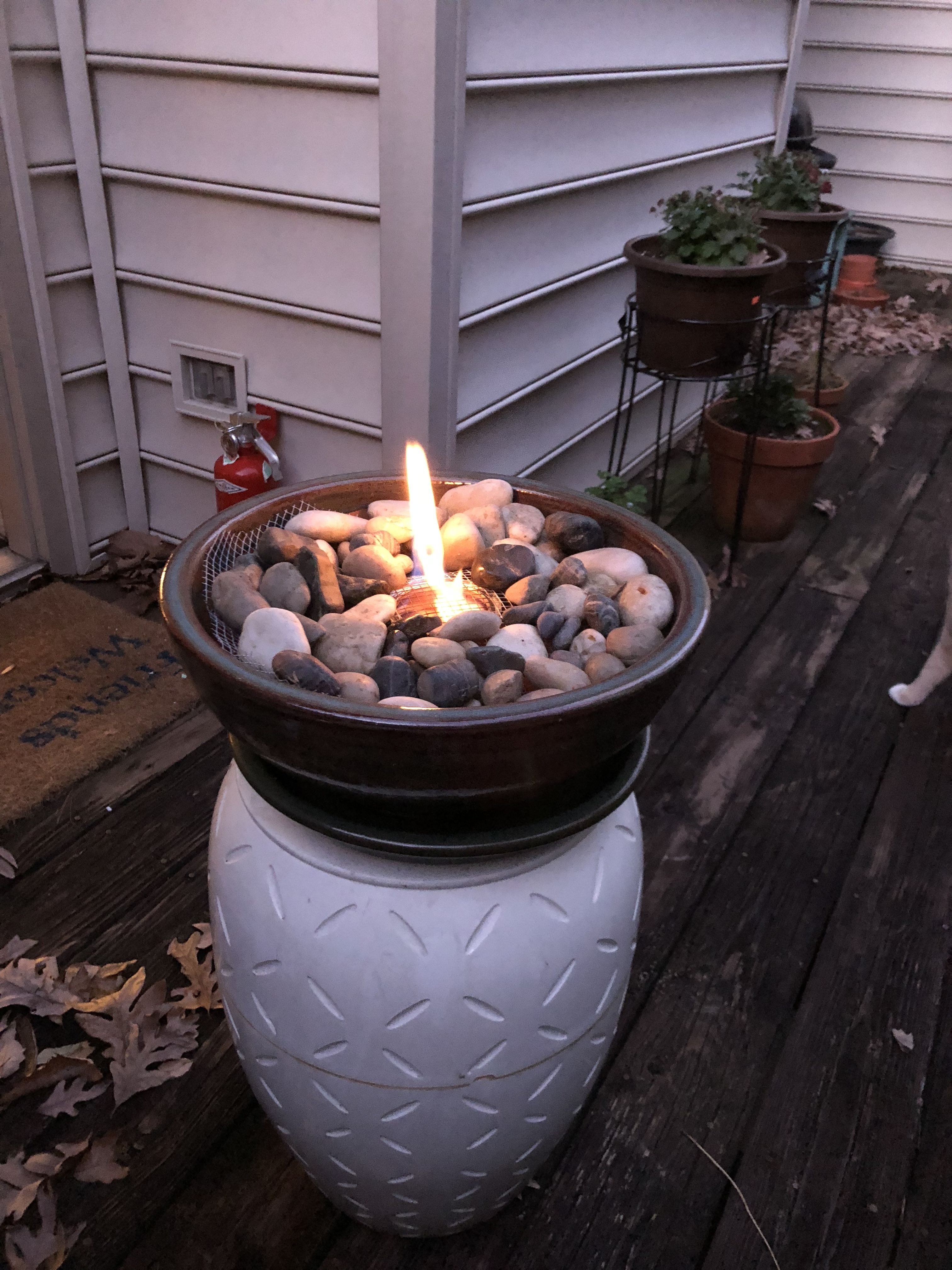 Homemade fire pit! Homemade fire pit, Outdoor propane