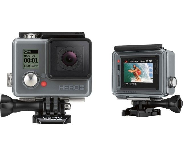 GoPro - HERO+ LCD HD Waterproof Action Camera - Angle Zoom