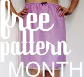 Grosgrain: Free Pattern Month *Click on Buttons for patterns