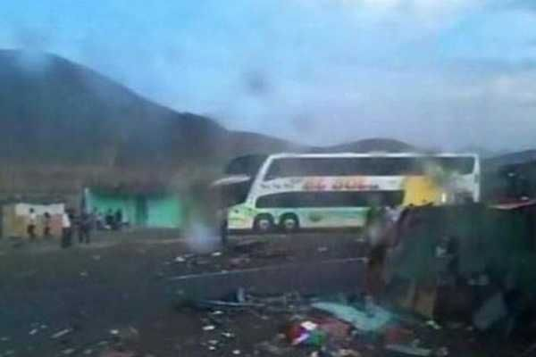 40 Muertos Y 70 Heridos Dejó Un Choque Múltiple En Perú