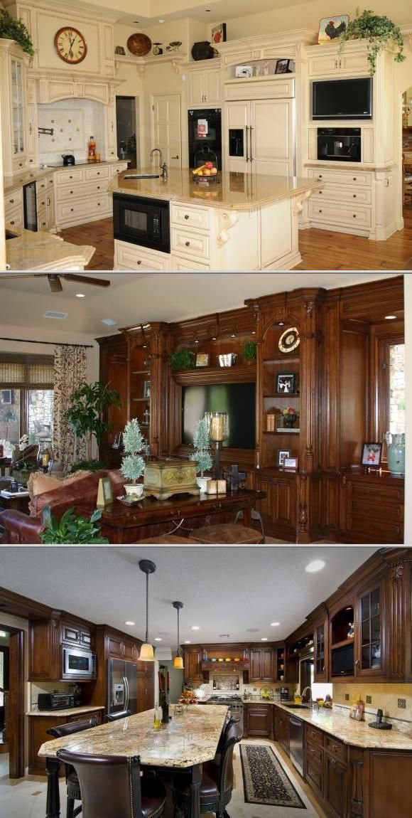This custom cabinet shop specializes in design and turn-key small to ...