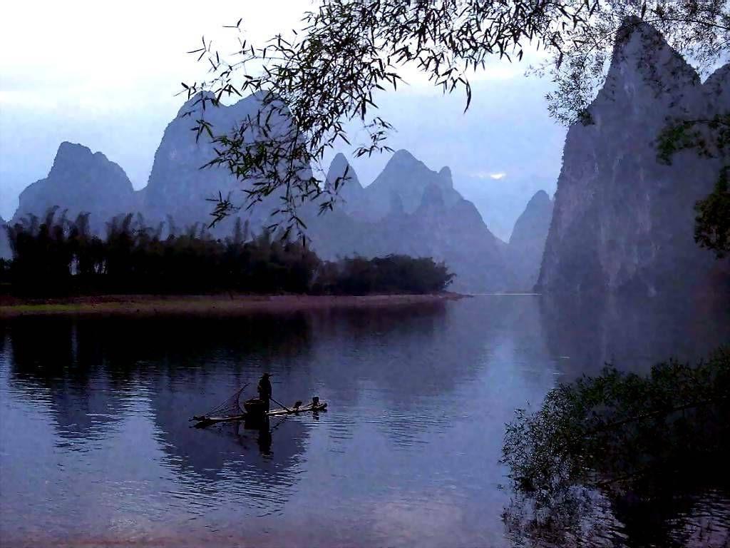 Guangxi River China Chinese Landscape Landscape Photography Landscape