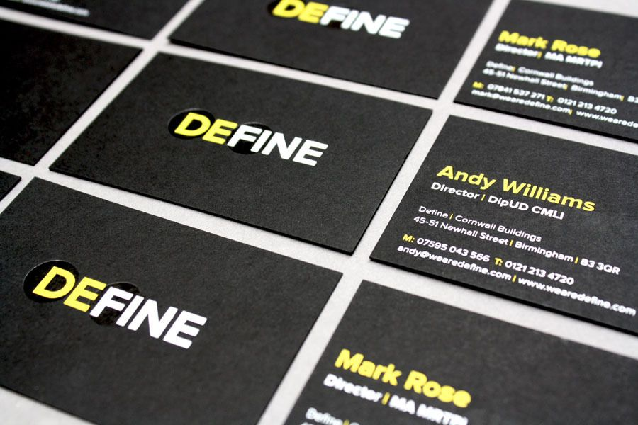 Define foiled business cards - Claire Hartley | Freelance Graphic ...