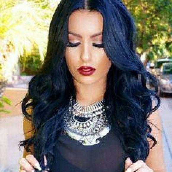 15+ Dark navy hair dye trends