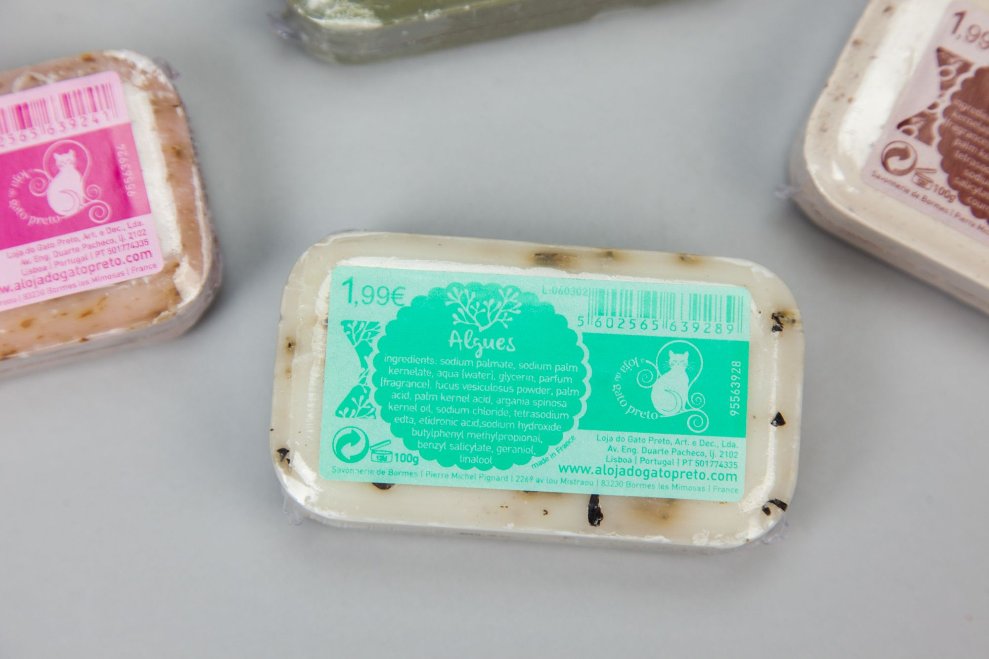 Sabonete «Algues» | A Loja do Gato Preto | #alojadogatopreto | #shoponline