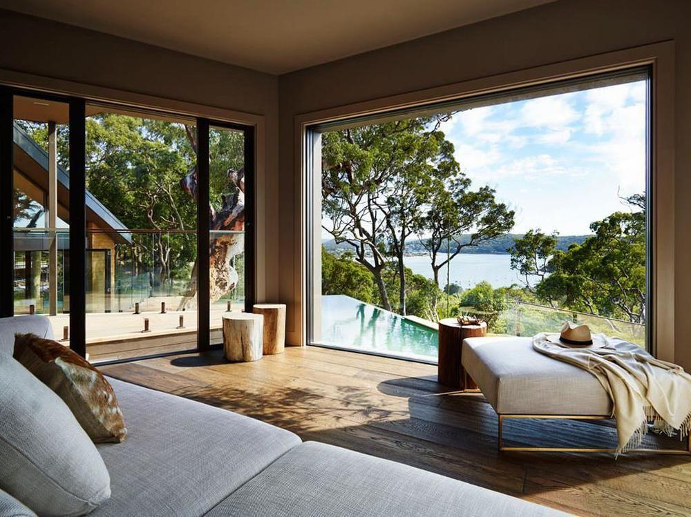 Pretty beach house nsw australia lifestyle