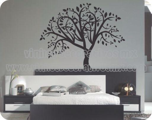 decoración de interiores con arboles