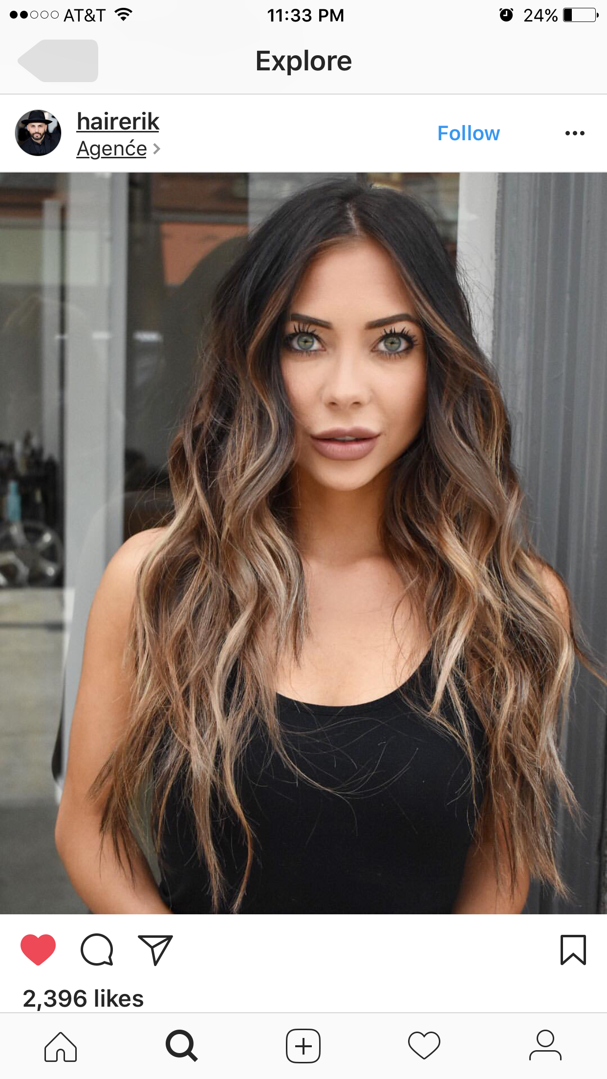 Beautiful women with matching beautiful hair and eyes bronde