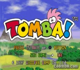 Tomba! ROM (ISO) Download for Sony Playstation / PSX - CoolROM com