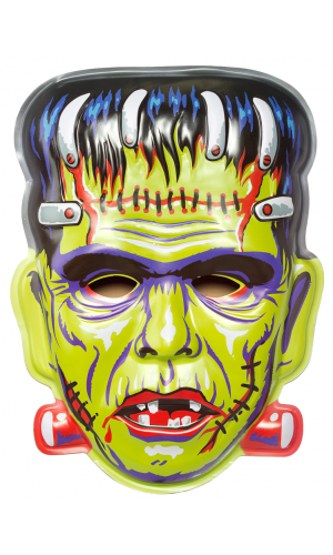 LARGE FRANKIE VAC-TASTIC PLASTIC MASK WALL DECOR | Oh, the HORROR ...