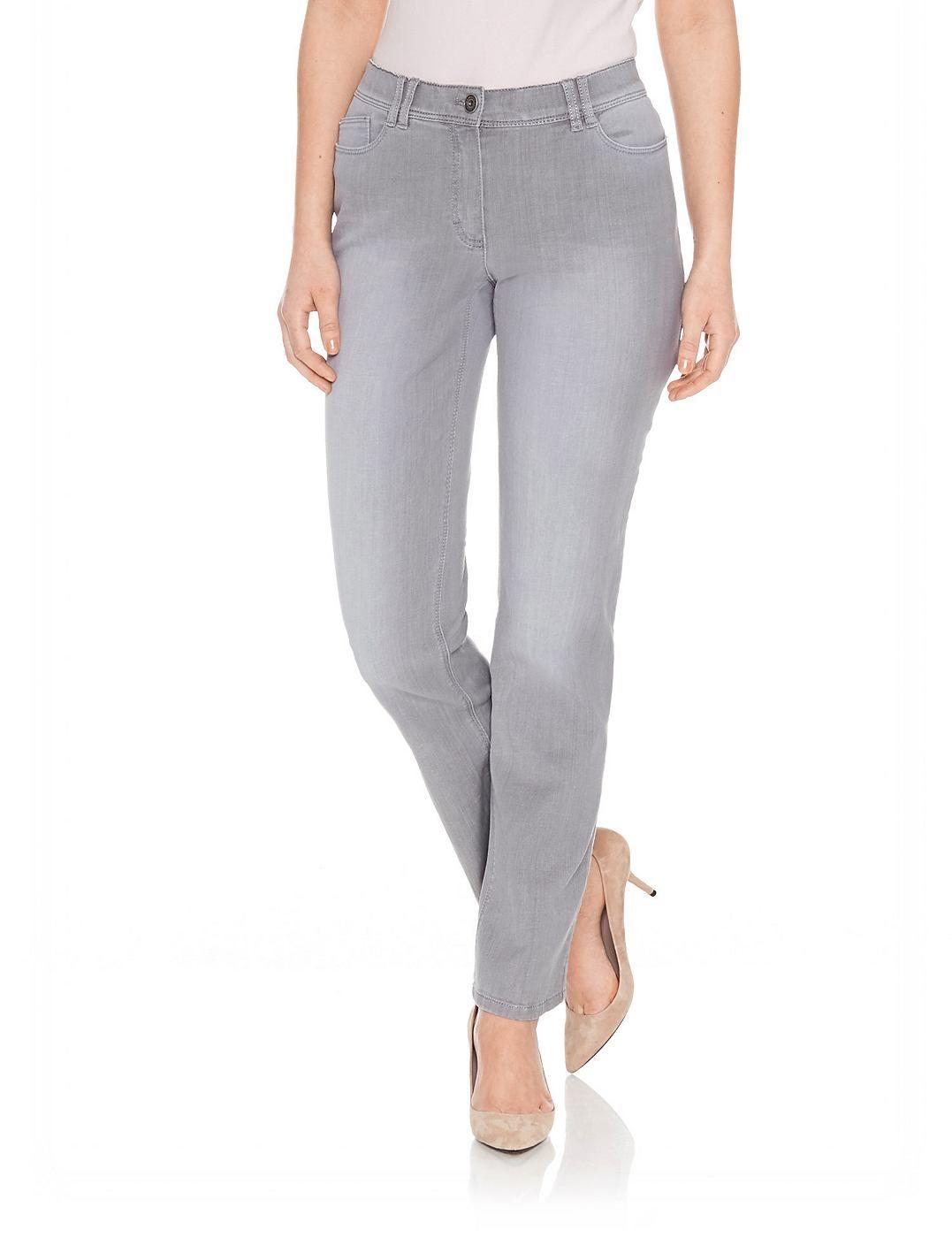 detaillierte Bilder zuverlässigste Super Specials SAMOON Hose Jeans lang »Jeans mit Applikationen Betty Jeans ...