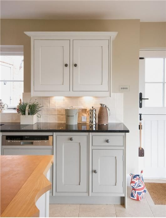Superieur Farrow And Ball Hardwick White On Painted Modern Country Kitchen