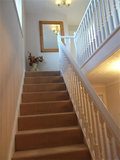 hall stairs and landing decorated by glenn harper gth. Black Bedroom Furniture Sets. Home Design Ideas