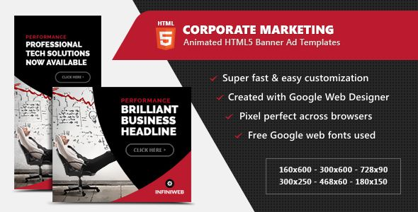 corporate marketing banners html5 animated gwd html5 banner ad