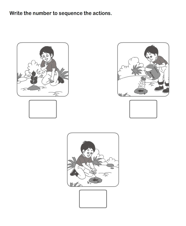 Picture Sequence Worksheet 11 eslefl Worksheets kindergarten – Sequencing Events Worksheets for Kindergarten
