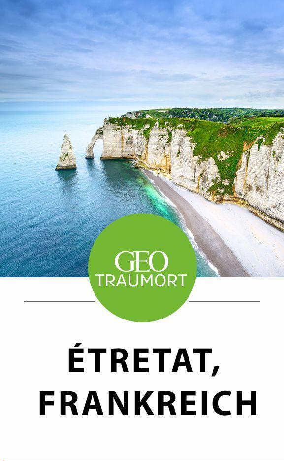 Étretat, Frankreich: Diese Küste zog schon Claude Monet in ihren Bann