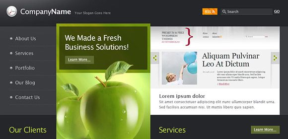 Free Commercial Website Templates. free business website templates ...