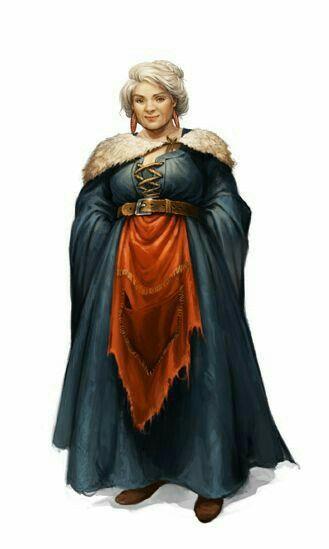 Rubia Surubim (Halfling). Dona do Futum da Maré