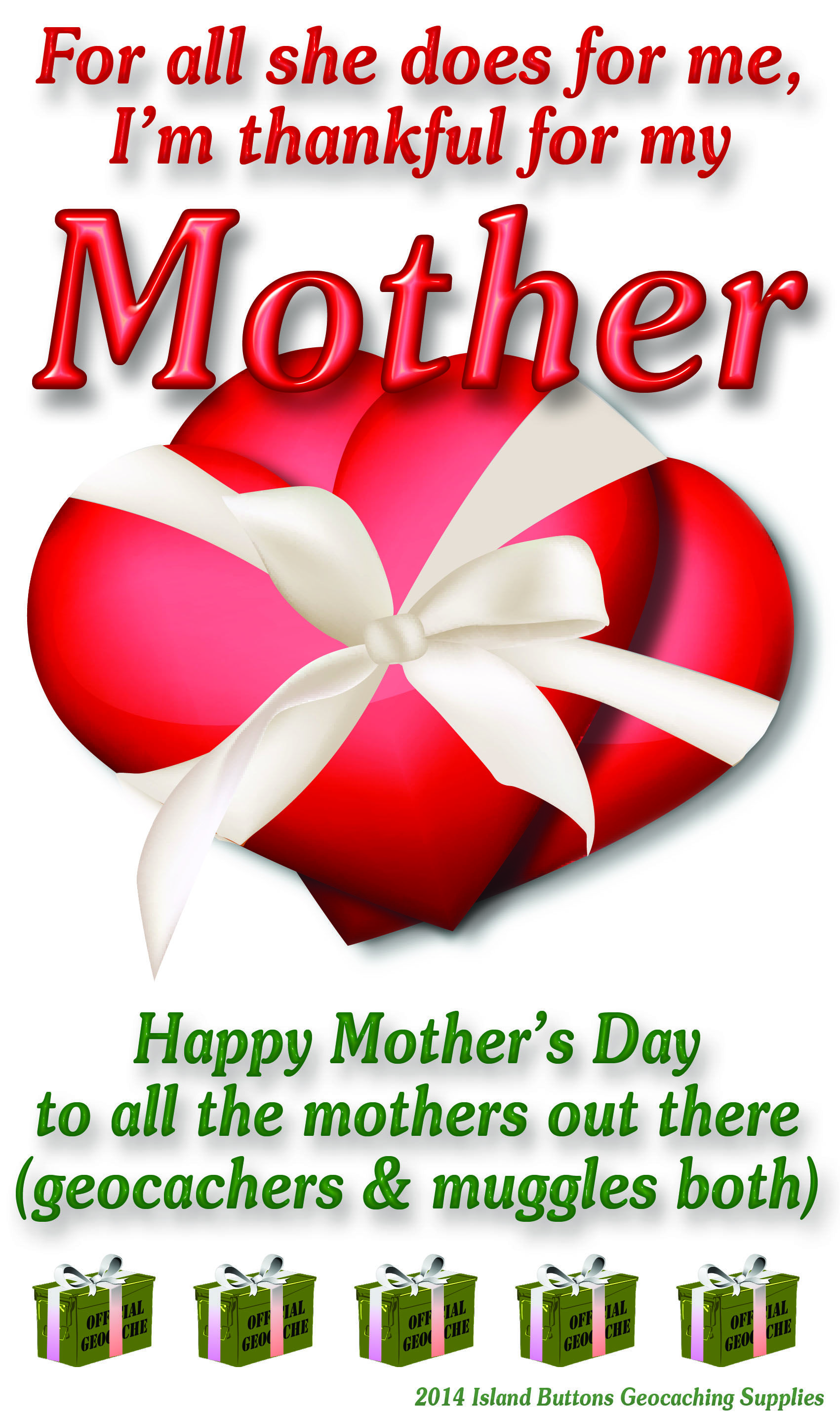 Happy Mother's Day to all the mothers out there ...
