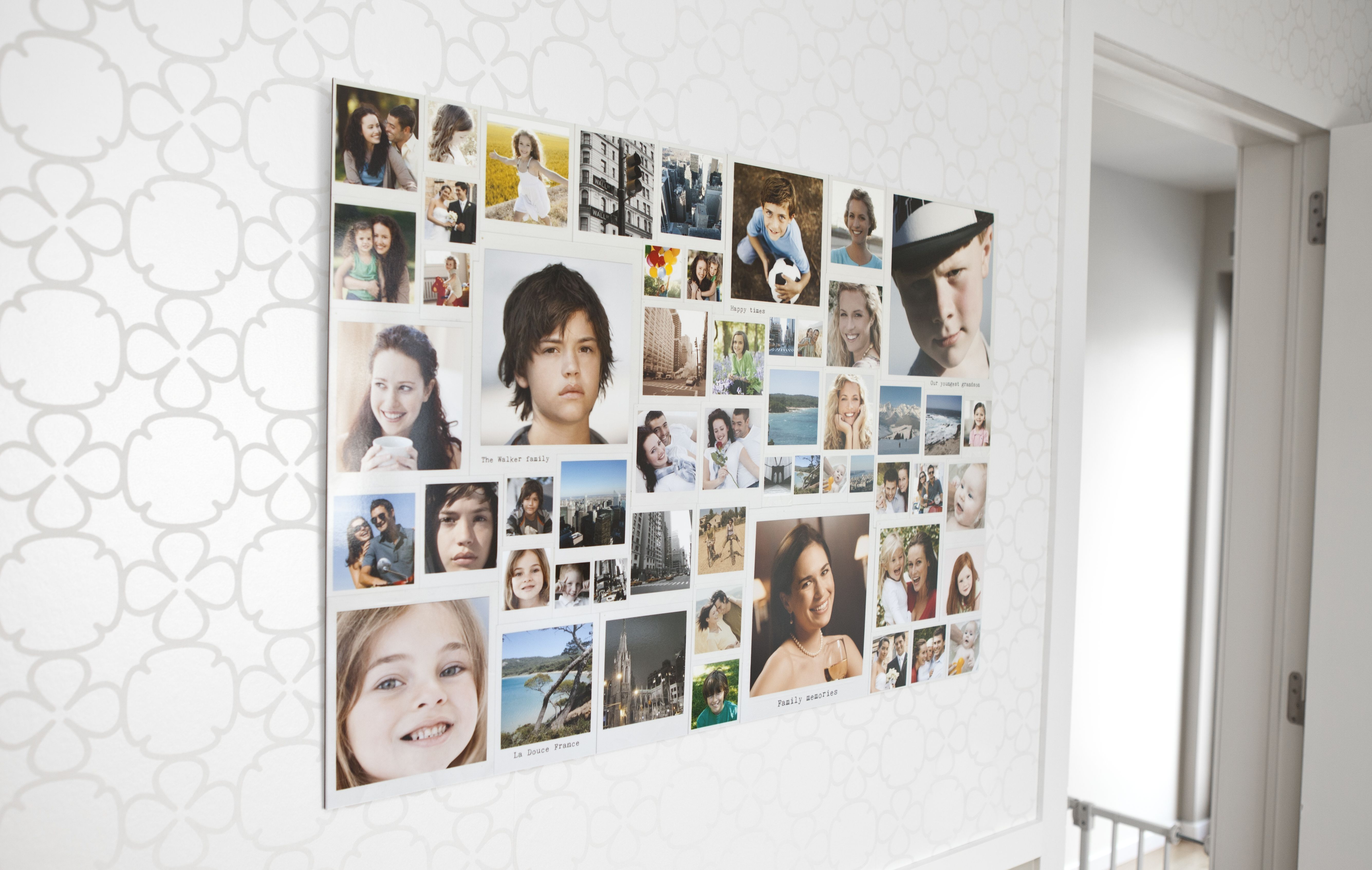 smartphoto wall deco design - photocollage - fotocollage ...