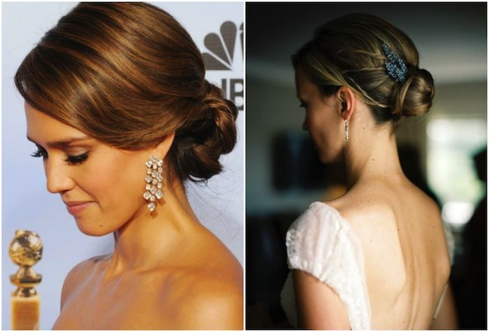 Remarkable 1000 Images About Bun Wedding Hairstyle For Winter On Pinterest Hairstyle Inspiration Daily Dogsangcom