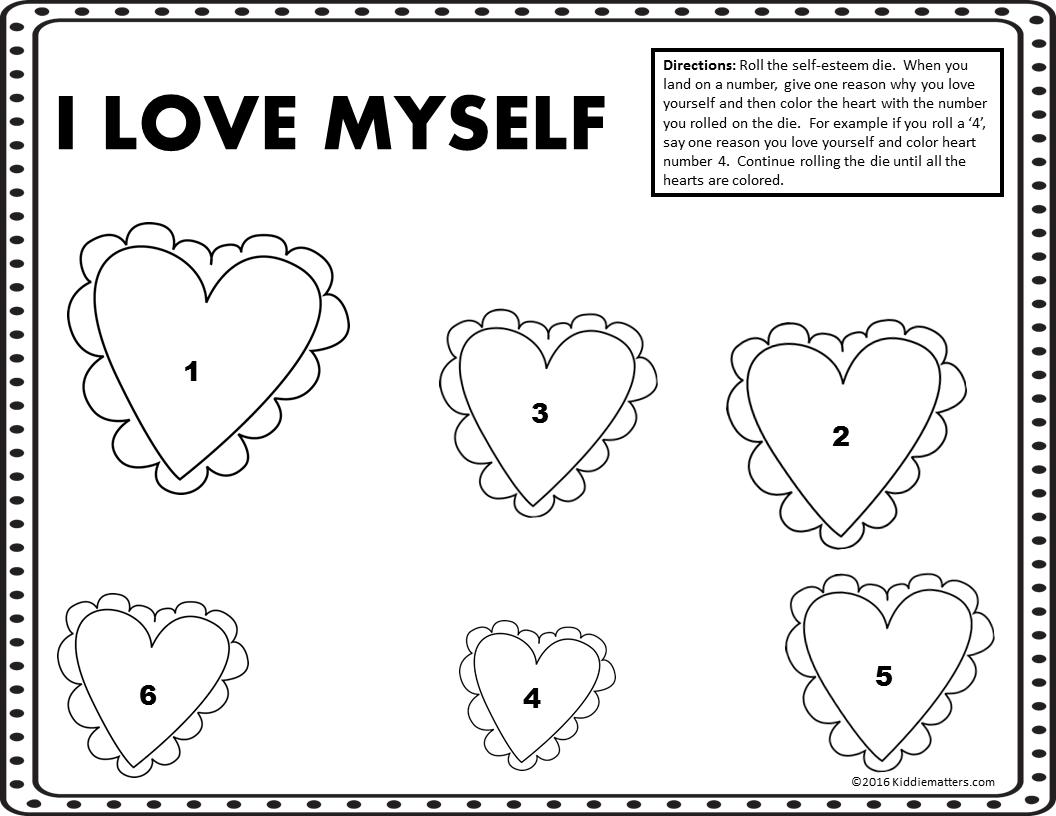 Self Esteem Activity For Kids
