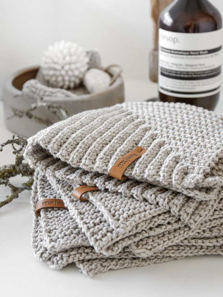 DIY | Serviettes d'invité idée de tricot – mxliving   – Stricken & häkeln | knitting & crocheting