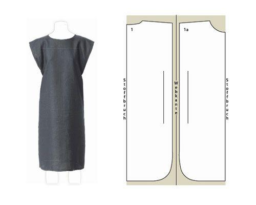 Schnittmuster: Kleid selber nähen - 8 luftige Ideen   Simple dresses ...