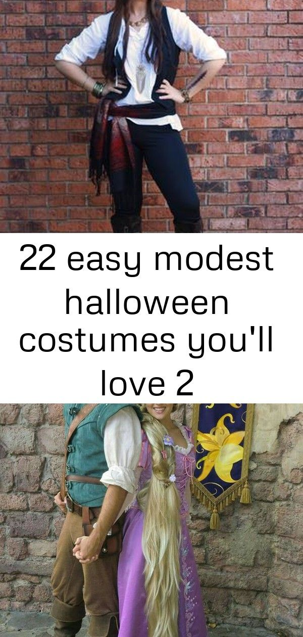 22 easy modest halloween costumes you'll love 2