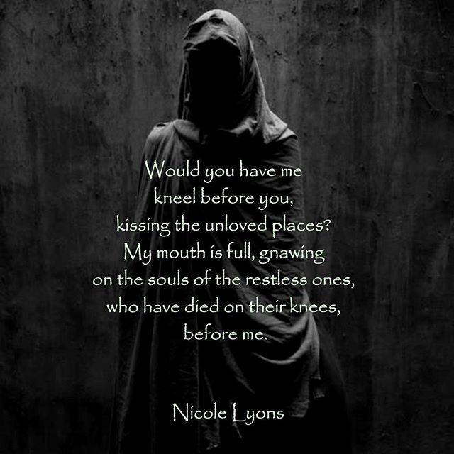 Dark Suicide Quotes: Would You Have Me #poetsofig #poetsofinstagram #poetry