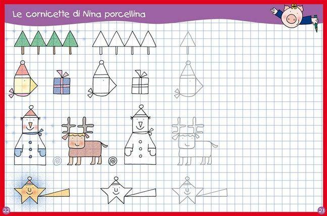 Cornicette Natalizie Bambini Di Natale Disegno Per