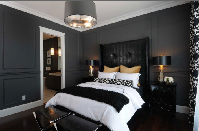 Charcoal Painted Rooms A While Grey Is Certainly Acceptable I Do