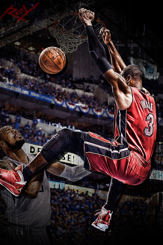 Dwyane Wade Wallpaper For Iphone Wallpapersafari Dwyane Wade Wallpaper Dwyane Wade Best Nba Players