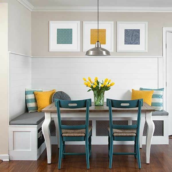 Gut Beautiful Dining Room With Corner Seat Ideas!