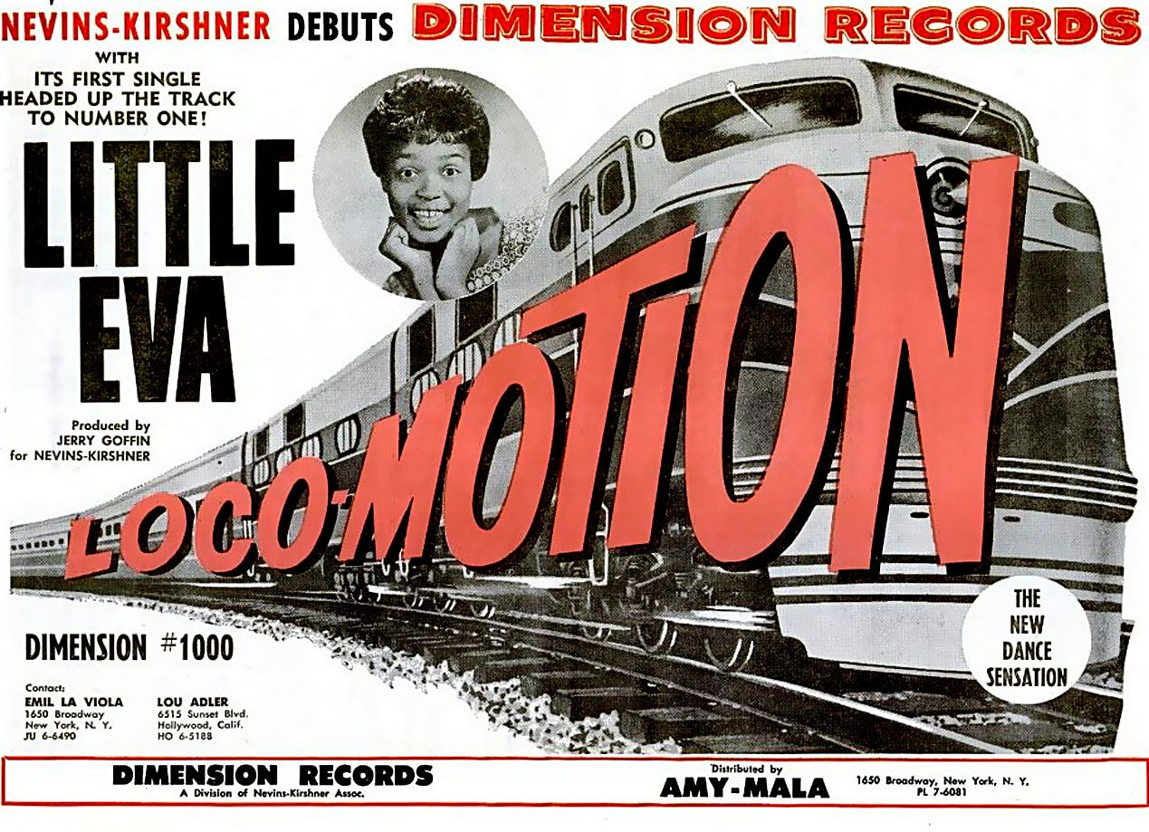 Image result for little eva and the locomotion