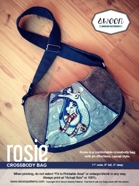 Rosie is a comfortable crossbody bag with an effortless, casual style…