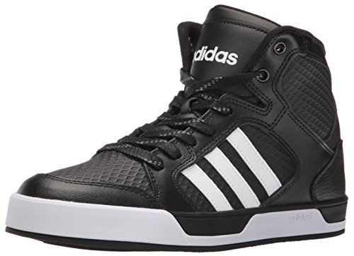 adidas NEO Men\u0027s Raleigh Mid Fashion Sneaker, Black/White.