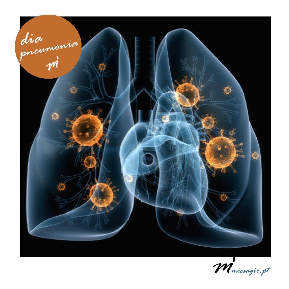 Hoje é o dia Mundial da Pneumonia! Prevenir é sempre o
