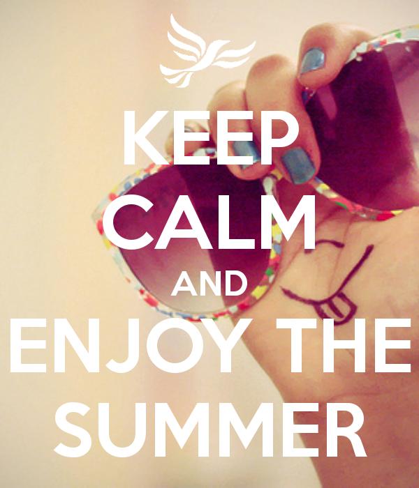 Charmant Keep Calm Summer