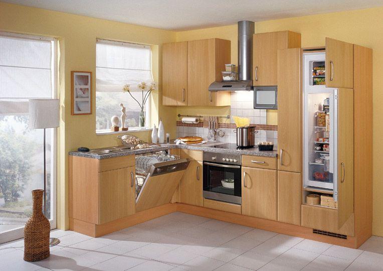 Cocinas modernas de madera2 hogar cocinas cocinas for Cocinas pequenas en madera