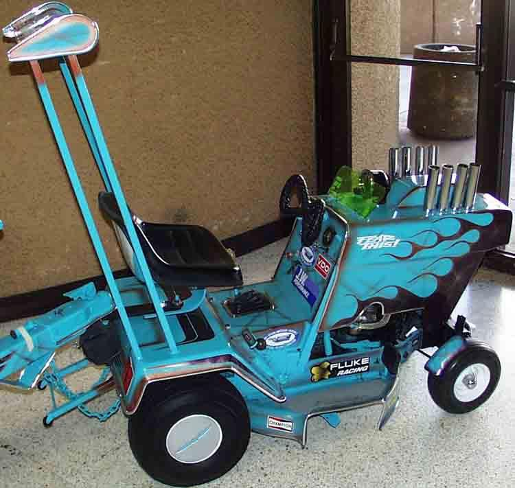 Custom Garden Tractor Wheels : Custom lawn tractor share photos of your projects with us
