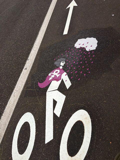 Prince Bike Lane Symbol By Pbot 2016 Pinterest
