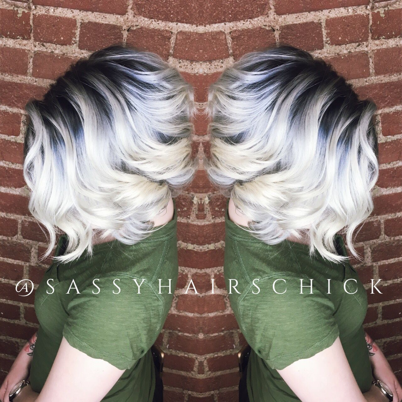 Shadow root and icey blonde??? In love!!